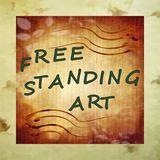 Metal Free Standing Art