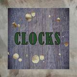 metal clock Art