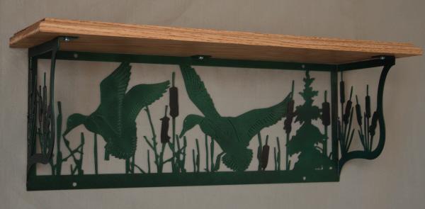 CS Metal Art shelf