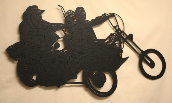 CS Metal Art motorcycle