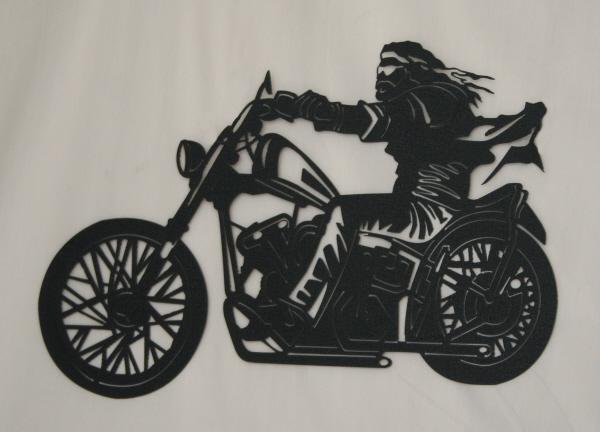 CS Metal Art motorcycle