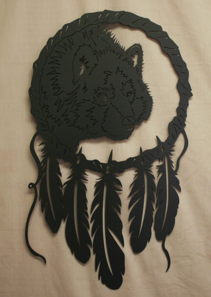 CS Metal Art dream catcher