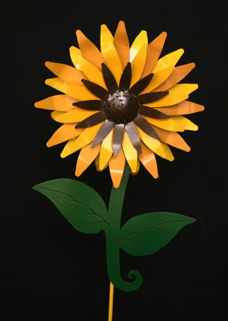Garden Yard Bold Sunflower Stake
