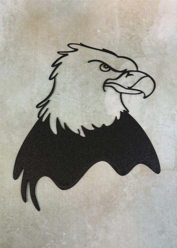 Wall Metal Art, Bald Eagle, Eagle Head