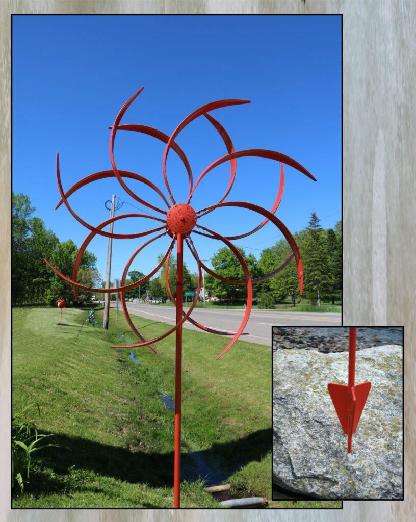 Metal Art, Wind Kinetic, Spinner