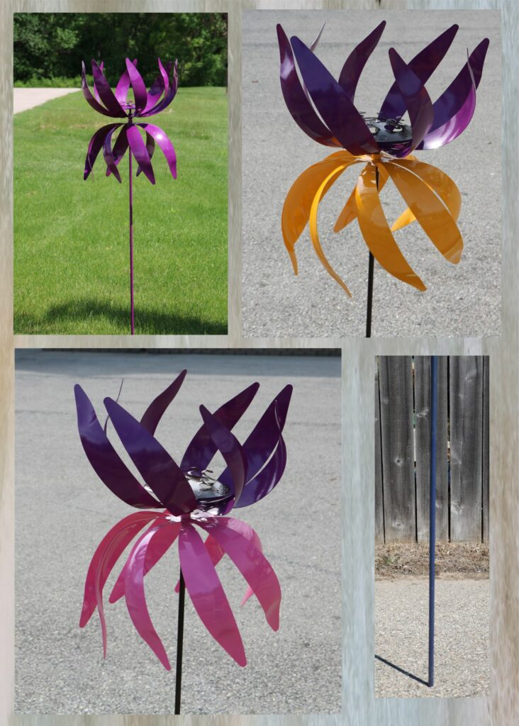 Metal Art, Wind Kinetic, Spinner